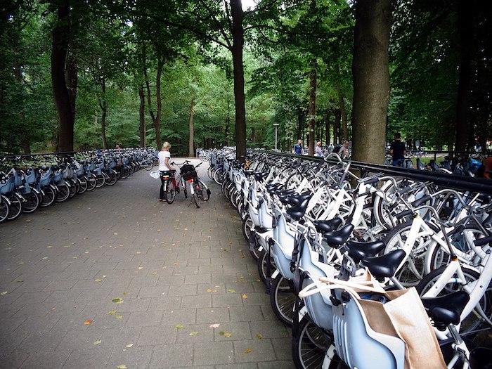 Kroller-Muller Museum - free bikes