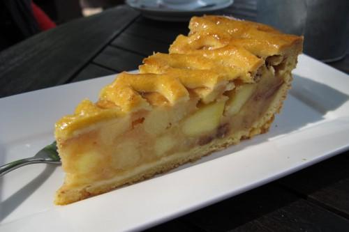 Torta de maçã - Comida típica holandesa - © Bailandesa