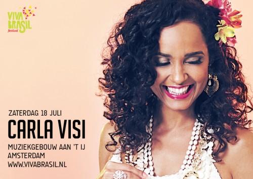 Carla Visi - Show brasileiro em Amsterdam - Viva Brasil