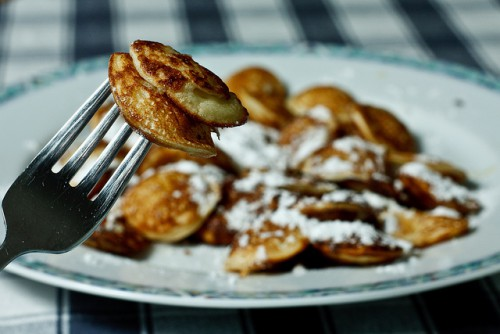 Poffertjes - mini panquecas hoalndesas © Dennis Burger (https://www.flickr.com/photos/dennisburger/)