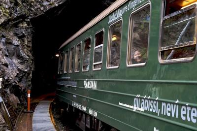Flambana - Noruega - trem - Europa
