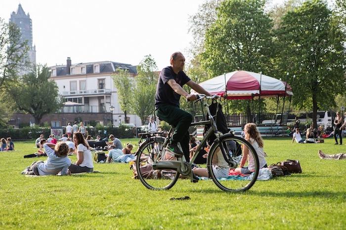 Andar de Bicicleta na Holanda