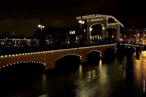 Magere Brug - A ponte Magra - Amsterdam - ©Bailandesa.nl