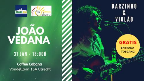 Joao Vedana - Barzinho e Violao - Coffee Cabana - Utrecht
