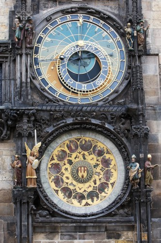Relógio Astronômico de Praga © Bailandesa.nl