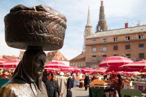 Mercado Dolac -  Zagreb Croacia - © Bailandesa.nl