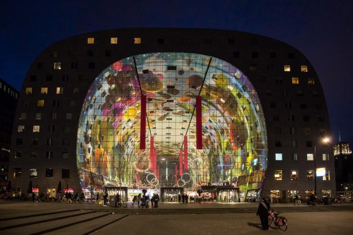 De Markt Rotterdam - o mercado de Roterdã - (c) Ron Beenen