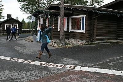Círculo Polar Ártico - Filândia - Santa Claus Village