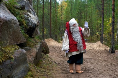 Papai Noel - Joulluka - Rovaniemi - Finlândia - Laponia