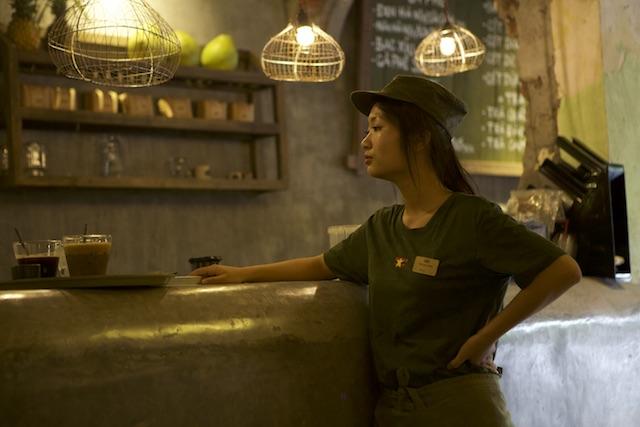 Cong Caphê em Hanói - Vietnã