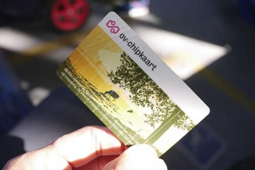 Transporte público na Holanda - OV Chipkaart - © Frank Heijnen