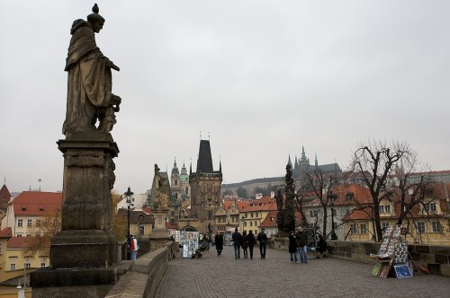 Art Nouveau - Praga © Bailandesa - Visto para Europa