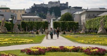 Salzburg, Austria - Jardins Palácio Mirabell