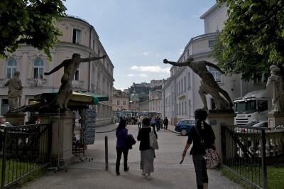Salzburg - Jardins do Palácio Mirabell