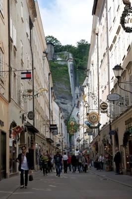 Getreidegasse - Salzburg, Austria