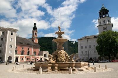 Salzburg, Austria - Praça da Residência