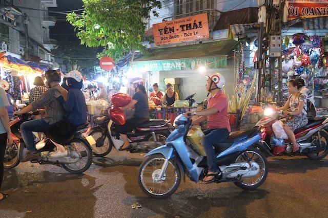 Motos em Hanói, Vietnã -Bailandesa.nl
