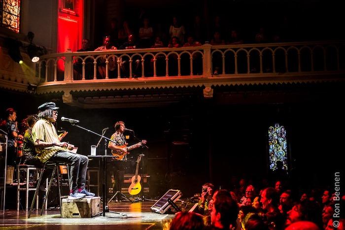 Show de Milton Nascimento Amsterdam Paradiso - foto: Ron Beenen