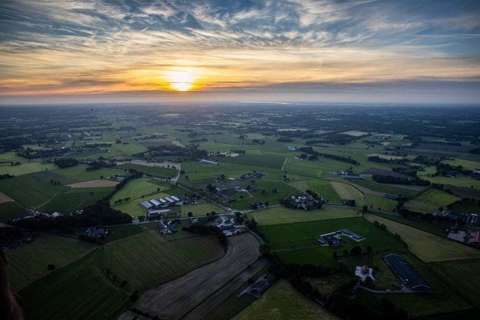Voo de balão na Holanda - (c) Bailandesa