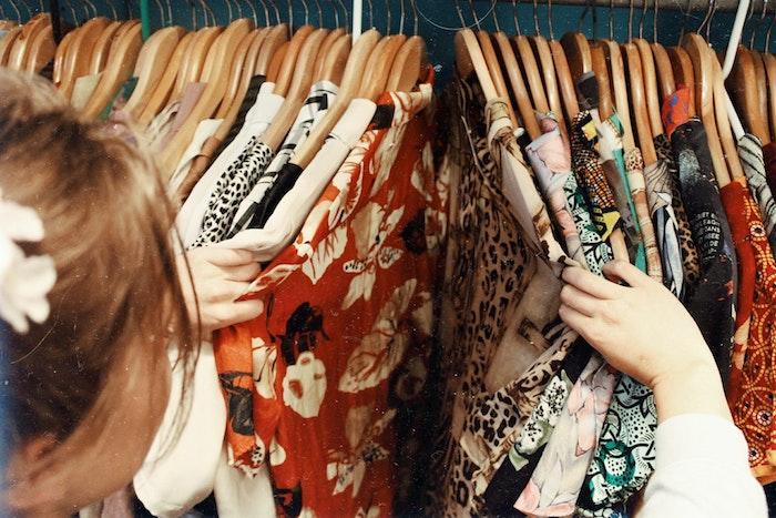 Brechós de roupas usadas na Holanda