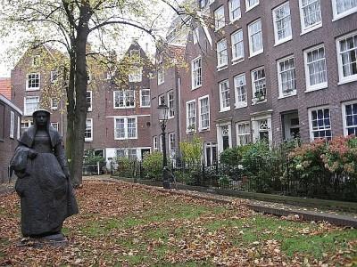 Begijnhof - Jardim das Beguinas - Amsterdam © Bailandesa.nl