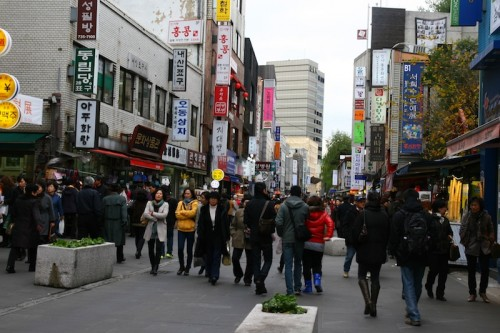 Seul - Coreia - Rua