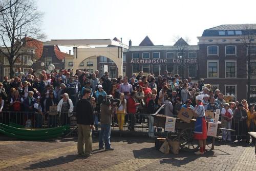Feira de Queijos na Holanda- Alkmaar - © Ron Beenen - Bailandesa.nl