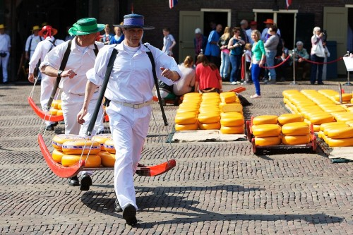 Feira de Queijos na Holanda - Alkmaar - © Ron Beenen - Bailandesa.nl