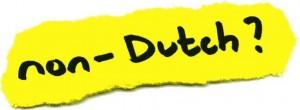 Non dutch - Não holandês