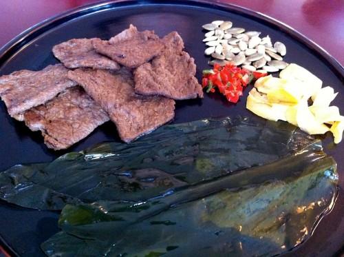 Restaurante Baru - Seoul - Coreia - Cozinha Budista