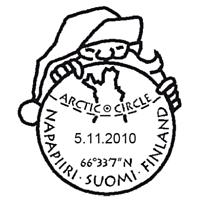 Selo Pólo Norte - Correio do Papai Noel - Finlândia