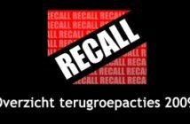 Recall - terugroepactie