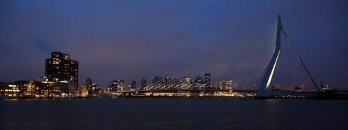 Erasmusbrug - Rotterdam - Holanda ©Ron Beenen - Bailandesa.nl