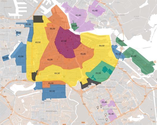Custo de vida na Holanda - estacionamento