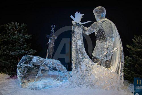 Festival Holandes de esculturas de gelo - agenda da Bailandesa