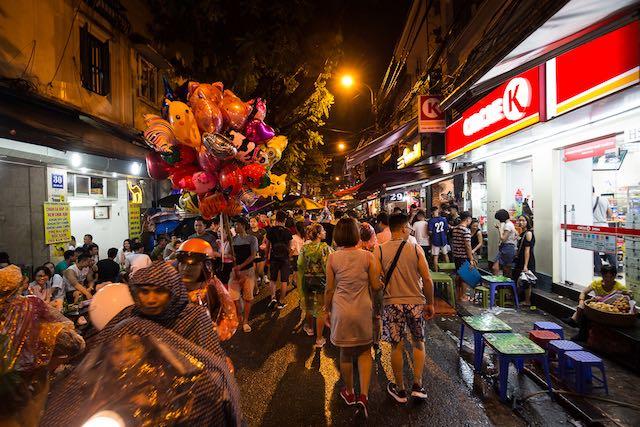 Feira Noturna em Hanói Vietnã (c) Bailandesa.nl